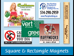 Square & Rectangle Magnets Canada
